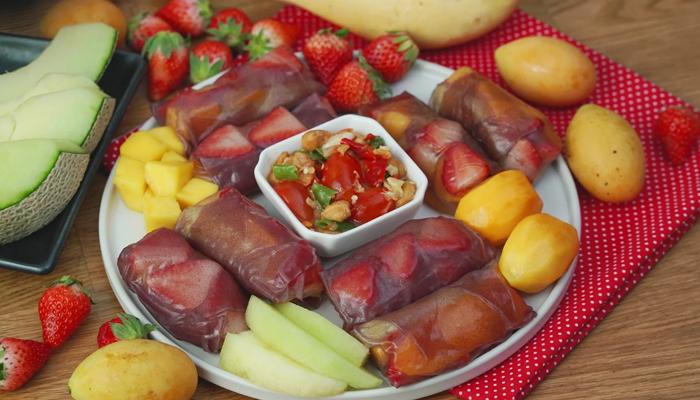 เมนูเปาะเปี๊ยะ อิ่มท้องได้สุขภาพ - tourdefood เป็นอีกเมนูที่หลายคนชื่นชอบ