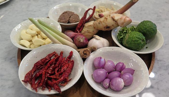 ขนมจีนน้ำยาปู สูตรแกงใต้