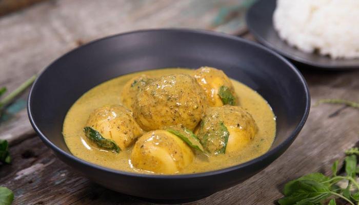 แกงเคยไข่เป็ด สูตรโขลกน้ำพริกเอง