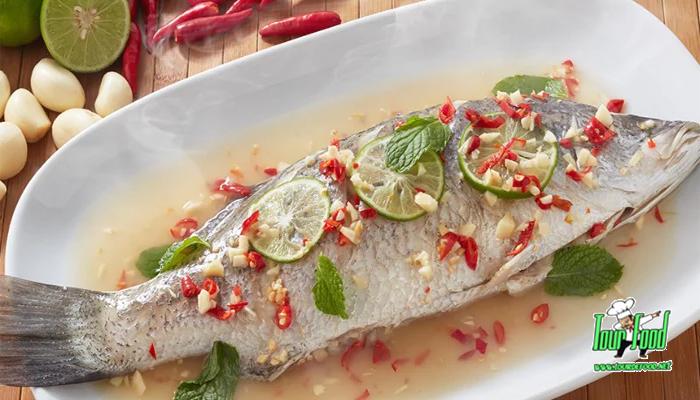 ปลากระพงนึ่งมะนาว รสชาติแซ่บจี๊ดถึงใจ
