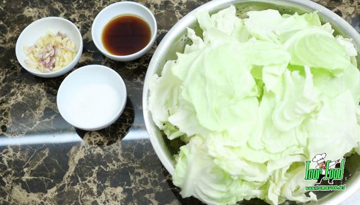กะหล่ำปลีผัดน้ำปลา เมนูทานง่าย สไตล์เกาหลี